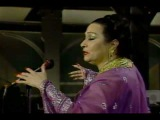 Yma Sumac on David Letterman Show (1987)
