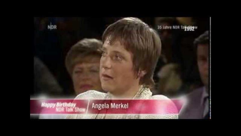 Angela Merkel studierte Physik um wenig er zu lügen