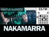 Hiatus Kaiyote - Nakamarra chords guitar cover Nai Palm
