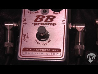 NAMM '12 Xotic Effects BB Preamp Comp Demo
