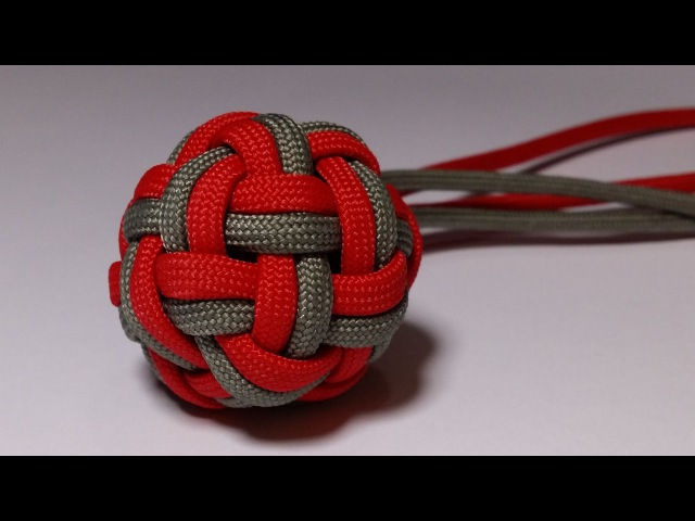 How to make a Double Globe Knot [by ParacordKnots ]
