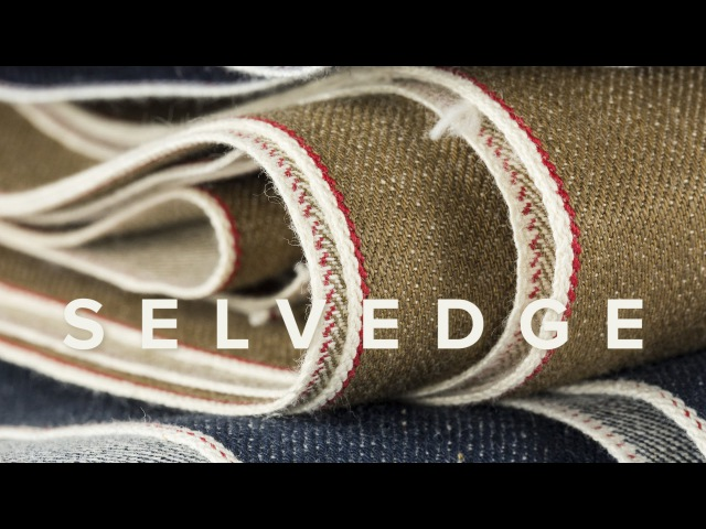 Sewing Mens Selvedge Jeans