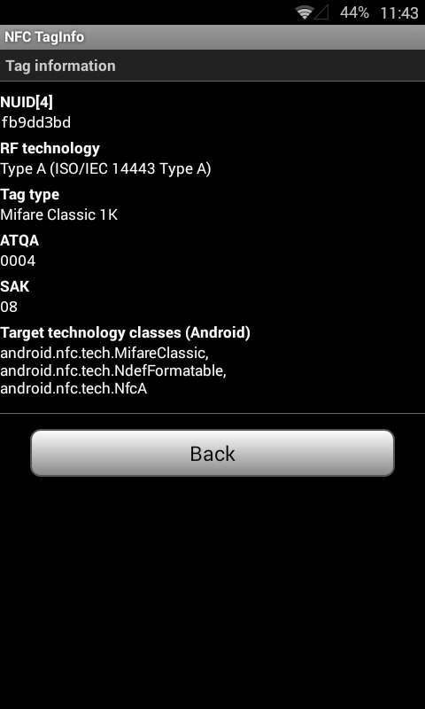 MCT - An Android NFC-App for reading/writing/analysing/etc