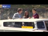 Алисия и Эдди Редмэйн прибывают в Венецию на фотоколл фильма «Девушка из Дании»