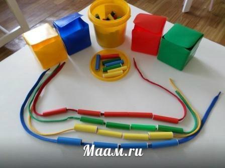 Сенсомоторные игрушки своими руками