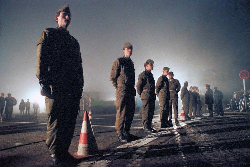 фото Падение Берлинской стены