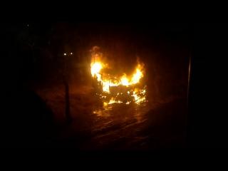сгорел бусик wv, в ночь с 8 на 9.12.2015