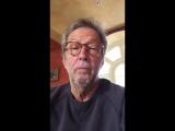 Эрик Клэптон на смерть БиБи Кинга