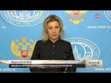 СУ 24 Захарова – Анкаре׃ Вы что, с ума сошли  Террористы Глумились над телом летчика؟