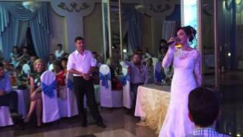 Очень красивая песня... Невеста поёт для жениха!