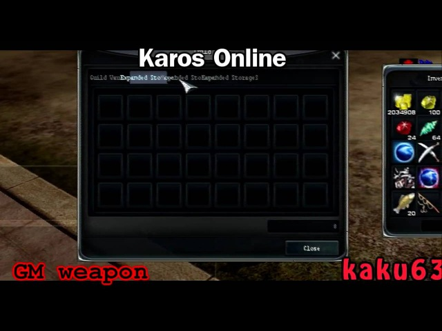 [Karos Online] GM weapon - Duplicate Exploit [HD]