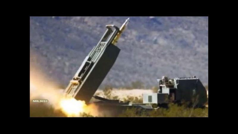 РСЗО HIMARS с управляемыми ракетами GMLRS / Боевые стрельбы на полигоне Морской пехот...