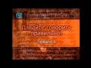 Русский язык. Передача 8. Что значит русский язык для вас? Часть 2