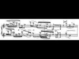 Pierre Boulez - Piano Sonata no.2 mvt.1