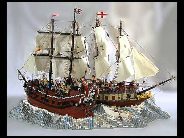 LEGO - Pirates ship