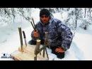 Петля ловушка на зайца живоловушка подъемная переставляемая Как сделать и установить зимой