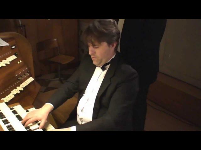 Handel. Passacaglia in G minor - Fedor Stroganov, organ
