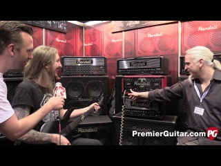 Musikmesse '15 - Randall Amplifiers Thrasher 50 and EOD 88 Demos