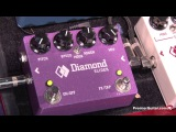 NAMM '13 - Diamond Pedals Nine Zero Two Overdrive and Slider Demos