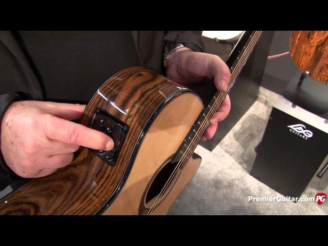 NAMM '15 - Lâg Guitars Tramontane Snakewood Demo