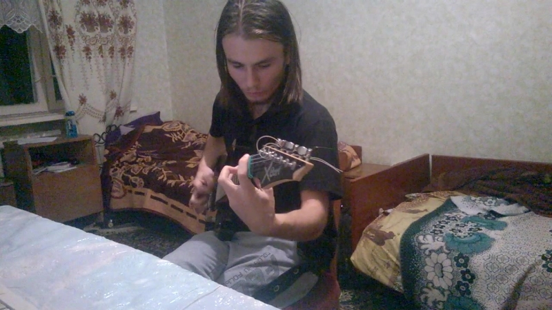 Крутой рок на гитаре ( кол ТЕК БНАУ (гурт. н.2 блок 205 )