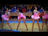 Кукольный танец. Группа поддержки БК УГМК, 06.10.2013
