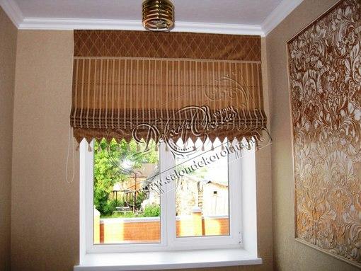 Декор окна карнизы