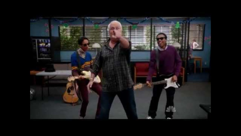 Community Christmas Special - Troy, Abed and Pierce - Santa Baby Boomer