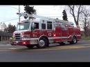 Fire Trucks Responding --BEST OF 2014--