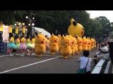 Парад Покемонов Пикачу в Японии (Йокогама)