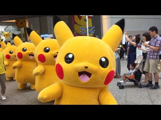 ピカチュウ大行進2015 Pikachu parade 2015