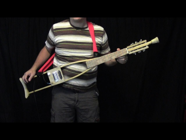 Crutch Guitar