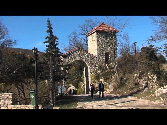 Грузия православная хор монастыря Зарзма