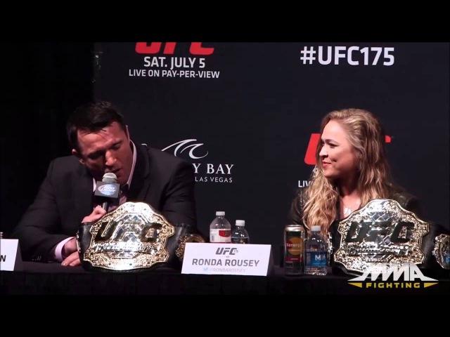 Чел Соннен во всей красе на ПК UFC 175