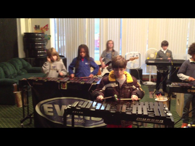 Crazy Train by Ozzy Osborne ~ The Louisville Leopard Percussionists
