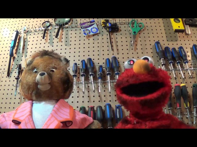 Undead Teddy Ruxpin and Elmo Cover Thrift Shop by Macklemore