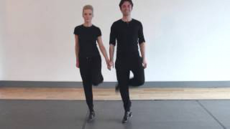 Irish Dance Tutorial for Riverdance The Gathering - Instructional Video for the experienced dancer