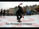 Christmas Ice Skating in Cologne - Freestyle Ice Skating Vlog (Part 1 of 2)