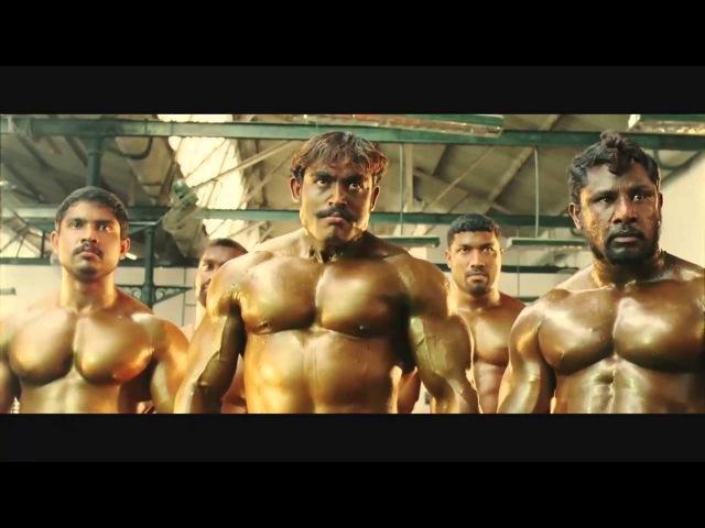 Драка Бодибилдеров - [ Индийский кинематограф снова жестит ] | Fight Bodybuilders