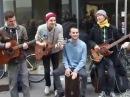 Уличные музыканты. Музыканты на улице, Копенгаген Дания.