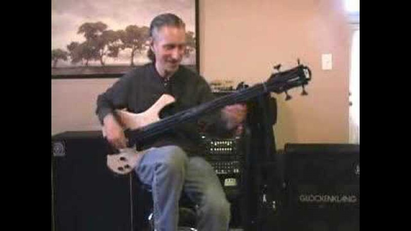 Michael Manring explains the Hyperbass
