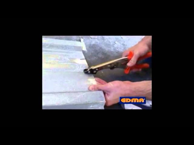 Просечные ножницы для плоского металла EDMA