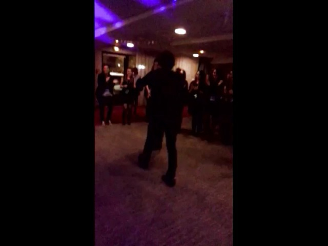 "Bob Morley - The 100 on Instagram: "". OMG I love this 😍 Bob and Richard dancing at the party {Royal Events convention in France} Credit to @selflesshai on Twitter. I'm happy…"""