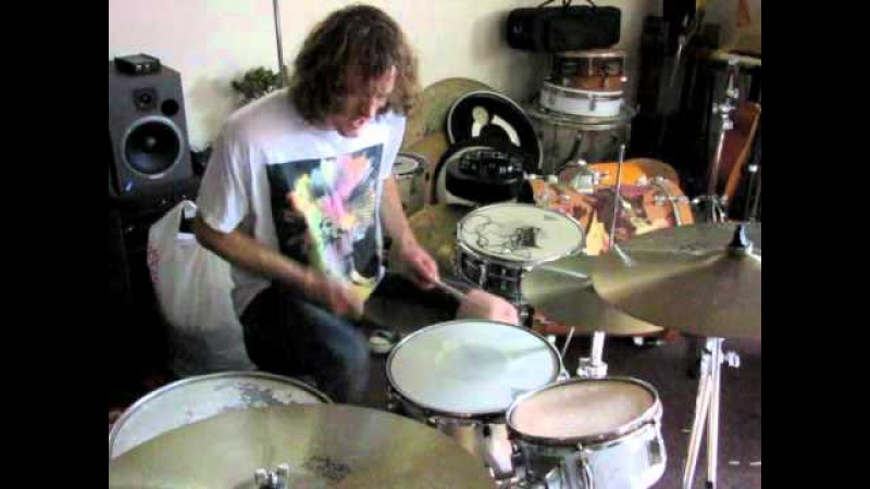 Zach Hill practicing February 2011