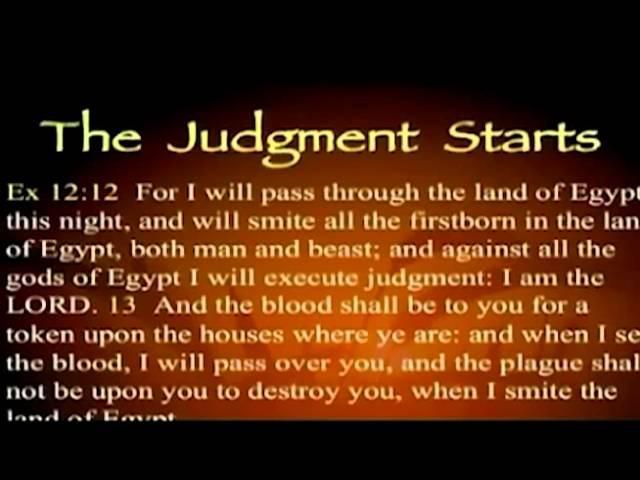 Песах часть 3 Искупление Первенцев Завет Порога Джим Стэйли