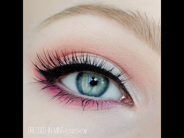 WIOSENNY makijaż w kolorze - SPRING makeup tutorial