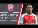 Santi Cazorla - Control | Amazing Skills Show (2015/16)