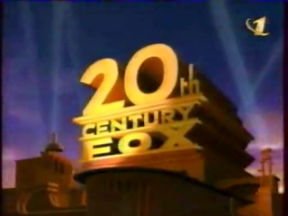 Заставка '20-й век FOX представляет на ОРТ' + Заставка Coca-Cola 'приятного просмотра' (ОРТ, 2000)