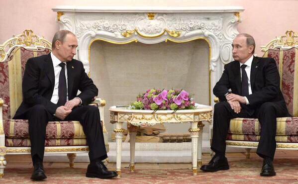 Путин vs Путин