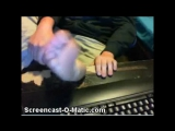 Randon Guys Showing Bare Feet & Tickling